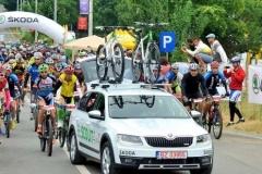 Statiunea - gazda pentru ciclism